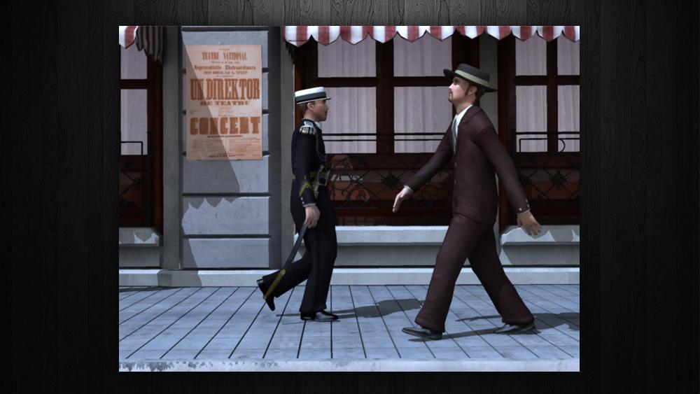 """Calea Victoriei"" Bucharest – Virtual Reconstruction"