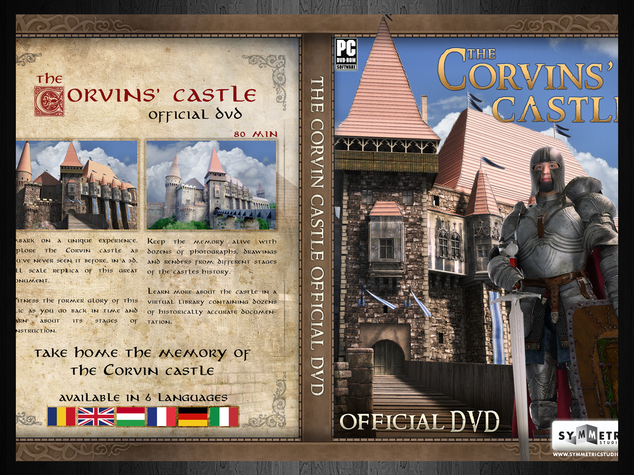 The Corvin Castle DvD